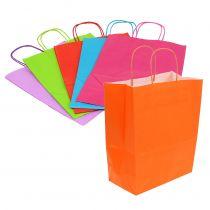 Paper bag 30cm x 23cm x 12cm colored 30pcs