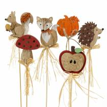 Plant sticks autumn assortment 12pcs