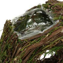 Natural plant wreath 28cm x 30cm