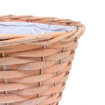 Plant basket orange Ø25cm H19cm