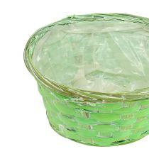 Planter bowl round Ø20cm assorted colors 8pcs