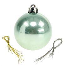 Plastic ball Ø6cm assorted colors. 10pcs