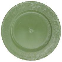 Presentation plate green Ø25cm