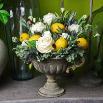 Cup bowl antique green Ø26cm H20.5cm