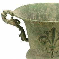 Cup bowl antique green Ø20cm H24cm