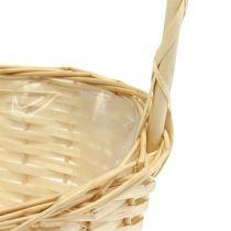 Gift basket 27cm x 18cm H43cm bright