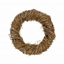 Vine wreath Ø30cm natural
