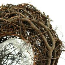 Vine plant heart nature 15cm x23cm x5cm 4pcs