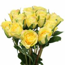Rose yellow 42cm 12pcs