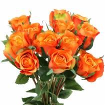 Rose Orange 42cm 12pcs