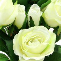 Rose bouquet cream 48cm