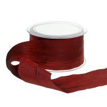 """Bow ribbon Bordeaux """"Crash"""" 50mm 20m"""