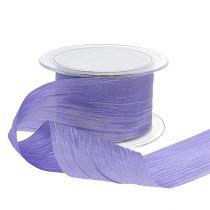 Ribbon lilac crash 50mm 20m