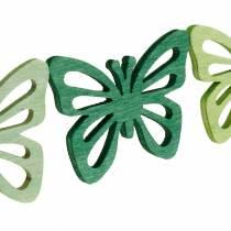 Sprinkle decoration butterflies, spring, wooden butterflies, table decoration to sprinkle 72pcs