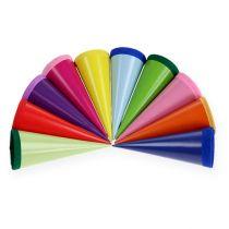 Mini-sugar bags multicolored 12cm 10pcs