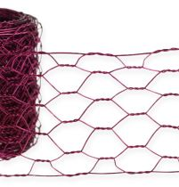 Hexagonal braid pink 50mm 5m