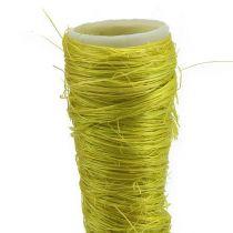Sisal bag light green Ø1.5cm L15cm 20pcs