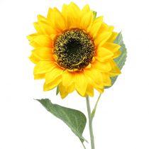 Artificial sunflower for decoration Ø15cm