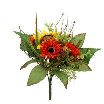 Sunflower bouquet yellow 24cm