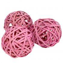 Chipball pink Ø6cm 6pcs