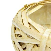 Chip bowl round yellow Ø25cm H10cm 1p
