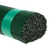 Pintle wire, floral wire, green 2.5 kg