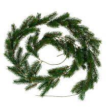 Fir garland 182cm green for outside and inside