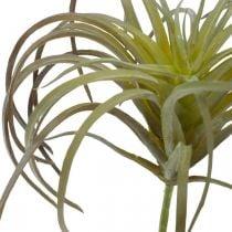 Tillandsia artificial to stick Green-purple artificial plant 13cm