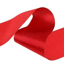 Table tape red 10cm 15m