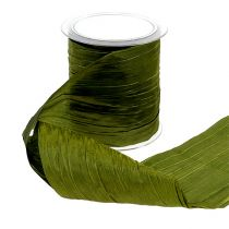 Table hinge Crash moss green 10mm 15m