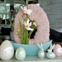 Egg pink mother-of-pearl 15cm 1p