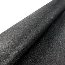 Table decoration table runner black 50cm 3m
