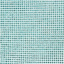 Table runner with sequins turquoise W25cm L228cm
