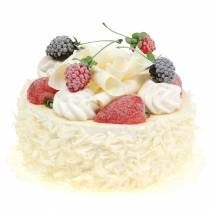 Artificial cream cake with berries Ø15cm H11.5cm