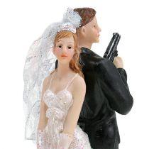 Cake figure bridal couple 15.5cm