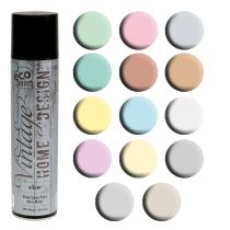 Color spray vintage different colors 400ml