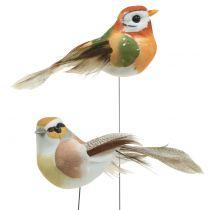 Birds on wire nature 9cm 12pcs