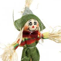 Scarecrow to decorate on the stick autumn decoration 24pcs