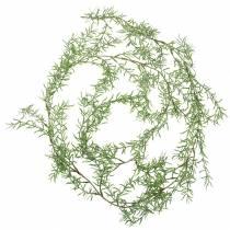 Juniper garland green-iced 180cm