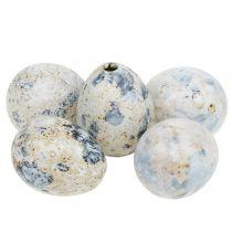 Quail eggs white marbled 3.5cm - 4cm 60pcs