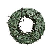 Willow wreath small green Ø28cm