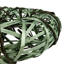 Willow wreath medium green Ø33cm