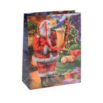 Paper bag Santa 11cm x 13.5cm