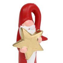 Santa Claus figure red H15cm