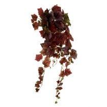 Vine leaves hanger green, dark red 100cm
