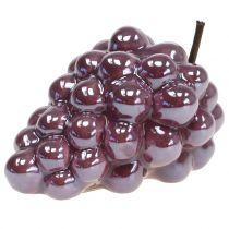 Grapes ceramic lilac 10cm 2pcs
