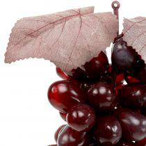 Artificial grapes Burgundy 25cm