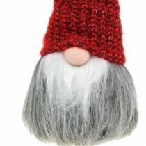 Decorative pixies with woolen hat 11cm H31cm 2pcs