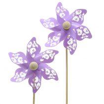 Windmill mini purple Ø9cm 12pcs