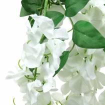 Garland wisteria white 175cm 2pcs